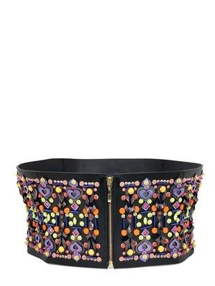 Manish Arora 120mm Embellished High Waist Belt