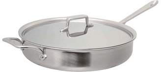 All-Clad d5 Brushed 6 Qt. Saute Pan With Lid
