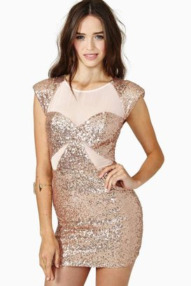 Nasty Gal Wild For The Night Sequin Dress