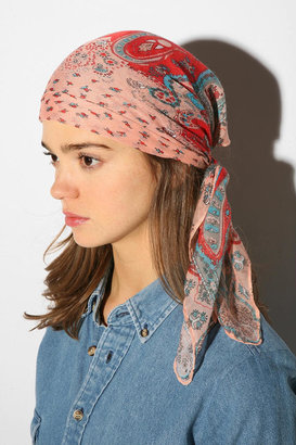 UO Paisley Headscarf