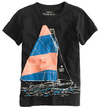 Star Wars Boys' sailboat tee