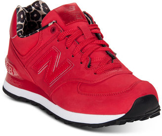 New Balance Women's 574 Sneakers from Finish Line $79.99 thestylecure.com