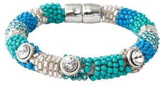 LOFT Blue and Green Beaded Bracelet