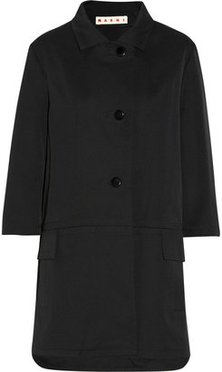 Marni Cotton-blend twill coat