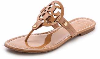 Tory Burch Miller Thong Sandals $198 thestylecure.com