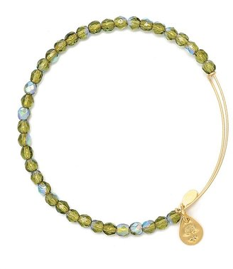 Alex and Ani Beaded Expandable Wire Bangle