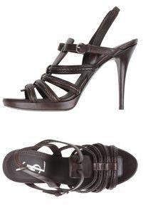Yves Saint Laurent RIVE GAUCHE Platform sandals