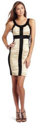 Jax Women's Satin Ruched Dress