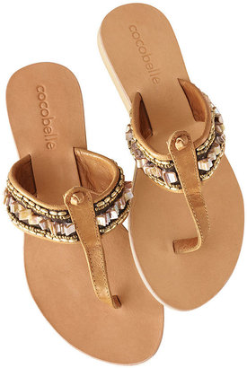 Cocobelle embellished thongs