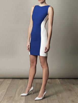 Antonio Berardi Fitted colourblock dress