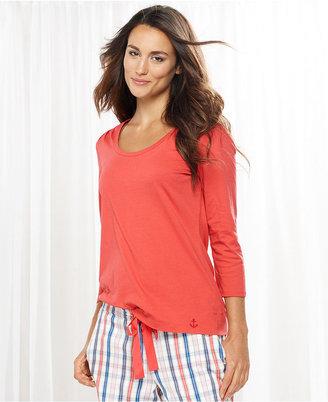 Nautica Pajamas, 3/4 Sleeve Tee