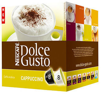 Krups Nescafé 27327 Coffee Pods, Dolce Gusto Cappuccino