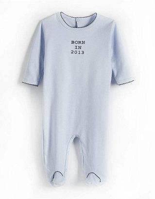 Margery Ellen Newborn Boys 0-9 Months Footie Bodysuit