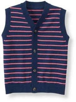 Janie and Jack Striped Sweater Vest
