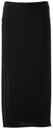Helmut Lang fitted skirt