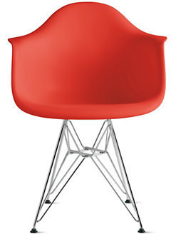 Design Within Reach Eames® Molded Plastic Wire-Base Armchair (DAR)