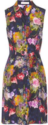 Matthew Williamson Floral-print silk dress