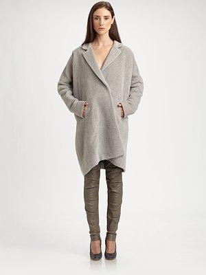 Zero Maria Cornejo Suri Alpaca Lab Coat