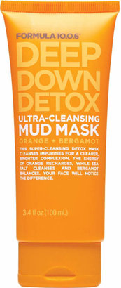 Formula 10.0.6 Deep Down Detox Ultra Cleansing Mud Mask $6.99 thestylecure.com
