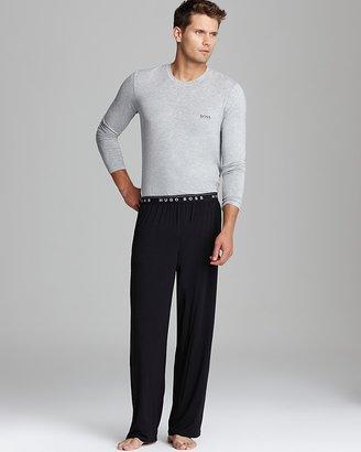 HUGO BOSS Long Sleeve Lounge Shirt