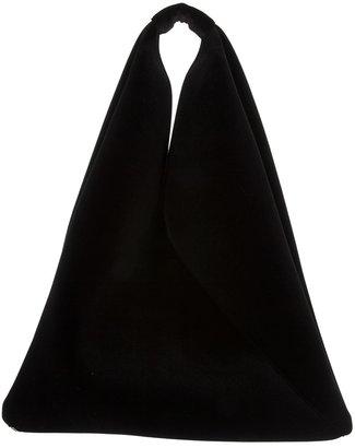 Maison Martin Margiela oversized triangular shoulder bag