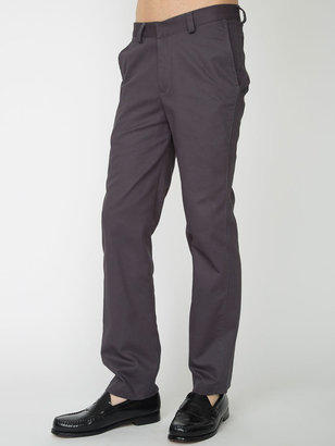 American Apparel Cotton Twill Travel Pant