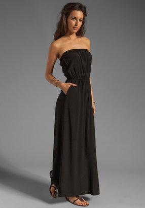 Splendid Strapless Maxi Dress