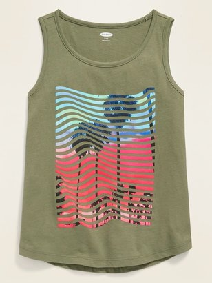 Old Navy Graphic Tank Top for Girls