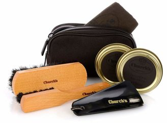 Church's Travel leather shoe-care kit