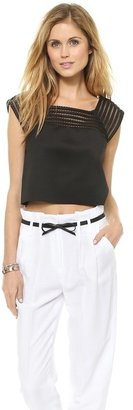 Milly Square Neck Top
