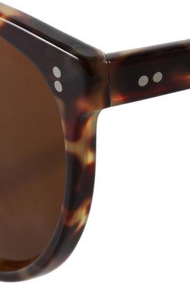 Illesteva Claire cat eye tortoiseshell acetate sunglasses
