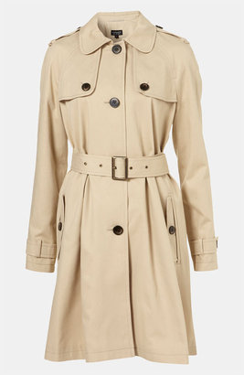 Topshop A-Line Trench