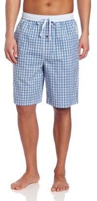 Nautica Men's Woven Mini Check Short