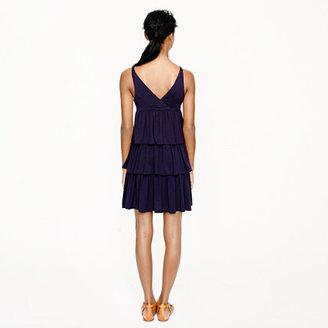 J.Crew Tiered ruffle dress