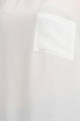 Gypsy 05 Klimt Short Sleeve Crepe Tee in Ivory
