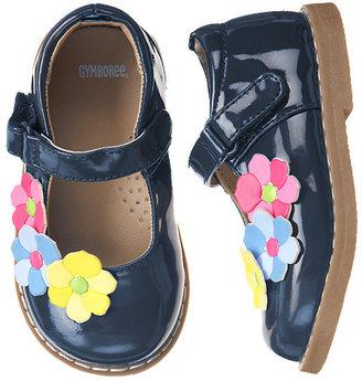 Gymboree Flower Patent Shoe