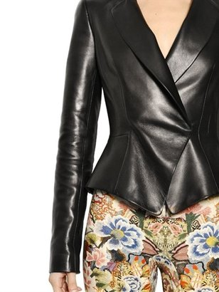 Alexander McQueen Soft Nappa Leather Jacket