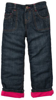 Osh Kosh Microfleece-Lined Straight Fit Jean