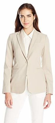 Calvin Klein Women's One Button Jacket