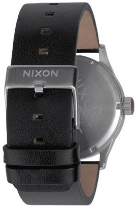 Nixon 'The Sentry' Leather Watch, 42Mm