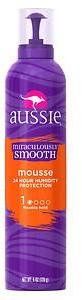 Aussie Miraculously Smooth Hair Mousse Flexible Hold
