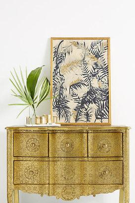Anthropologie Hand-Embossed Four-Drawer Dresser