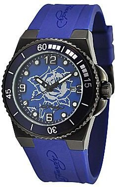 Ed Hardy Womens Blue Dive Watch