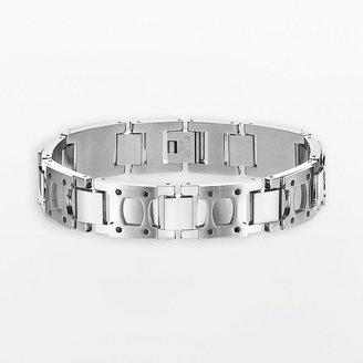 Triton Axl by TM stainless steel h-link bracelet - men
