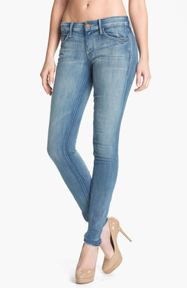 Mother 'The Looker' Skinny Stretch Jeans (Cream Soda)