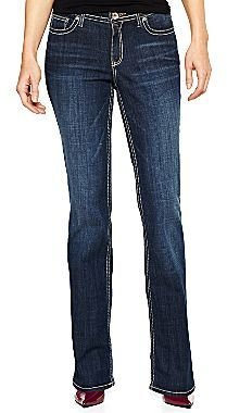JCPenney a.n.a® Thick-Stitch Bootcut Jeans - Tall