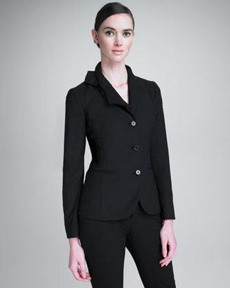 RED Valentino Bow-Lapel Jacket