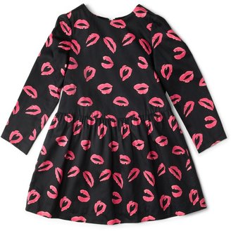 Milly Minis Drop Waist Sleeve Dress