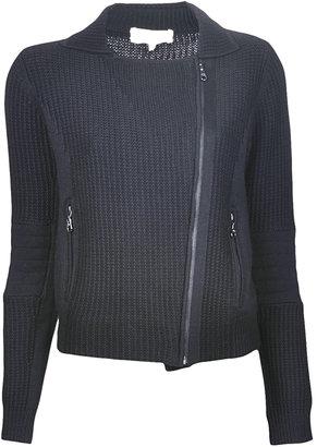Vanessa Bruno Wool Moto Jacket