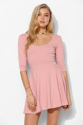 Sparkle & Fade 3/4 Sleeve Knit Skater Dress